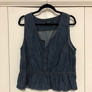 Gap Peplum Top - XL